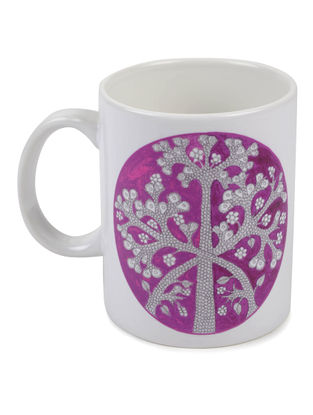 4 Seasons Gond Art Mug-Autumn