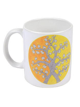 4 Seasons Gond Art Mug-Winter
