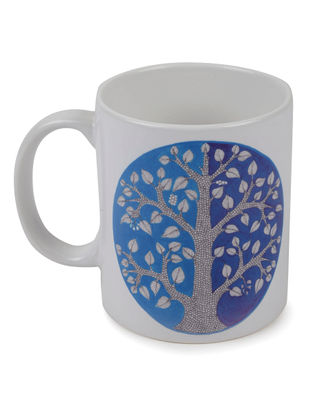 4 Seasons Gond Art Mug-Monsoon