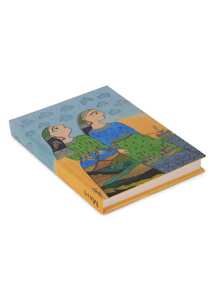 Amita Madhubani Art Journal-Mahi