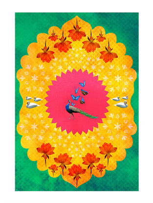 Rang Bhumi Art Print on Paper