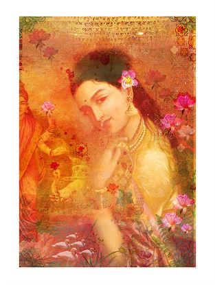 Sakhi Art Print on Paper