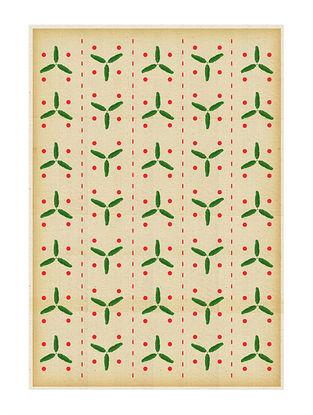 Banana Leaf Art Print on Paper