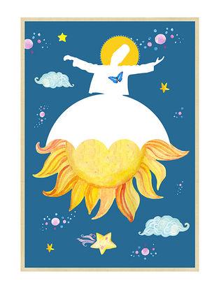 Rumi Love Art Print on Paper