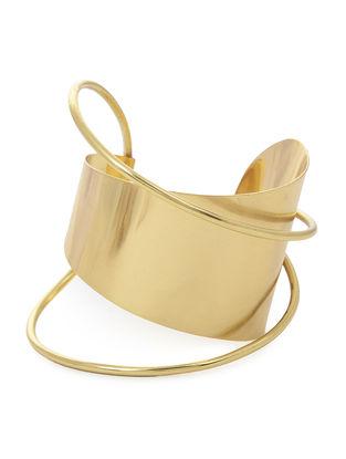 Gold Tone Brass Cuff