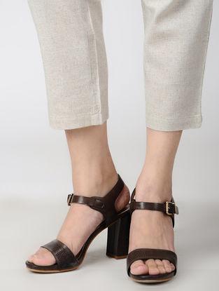 Grey Elasticated Waist Cotton Linen Pants