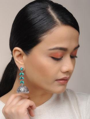 Classic Turquoise Jhumkis