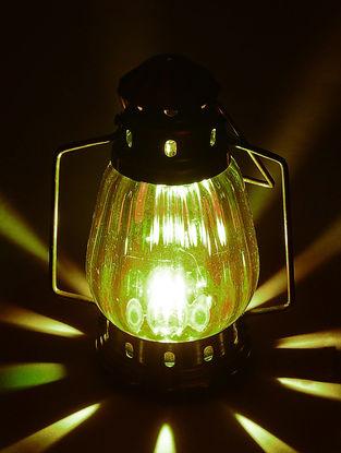 Glass Lantern 5in x 3.5in x 6in