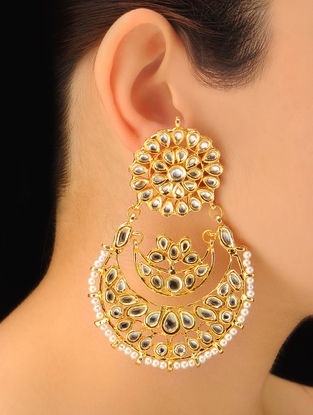 Pair of Classic Halfmoon Earrings
