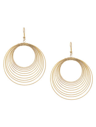 Classic Brass Earrings