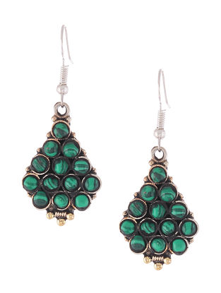 Classic Green Earrings