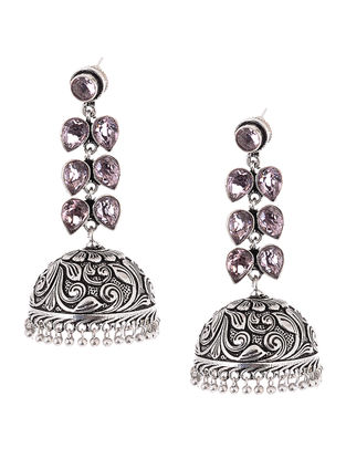 Classic Jhumkis with Floral Motif