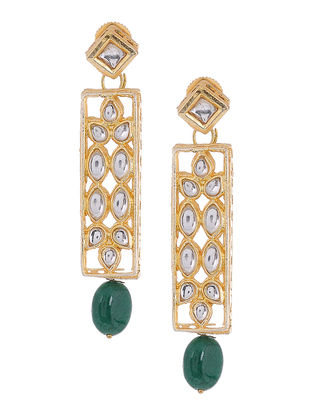 Kundan Inspired Earrings with Beads