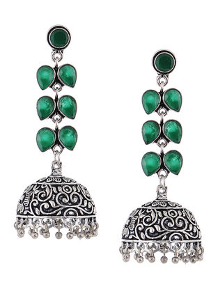 Classic Green Jhumkis