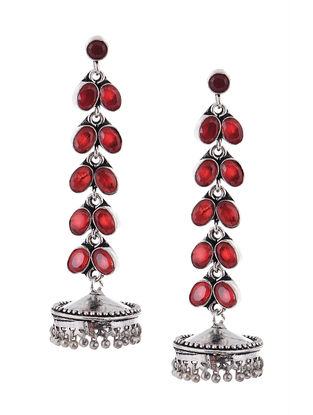 Classic Red Jhumkis