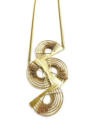 The Elephant Gold-Plated Brass Necklace