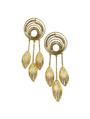 Dreamer Gold-Plated Brass Earrings