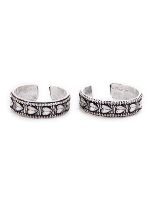 Classic Adjustable Toe Rings (Set of 2)