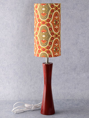 Red-Yellow Lamp Set 6in x 6in x 26in