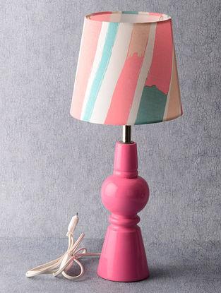 Pink Lamp Set 8in x 8in x 19in