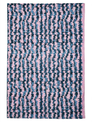 Lavender Cotton Varra Design Dhurrie 72in x 47in