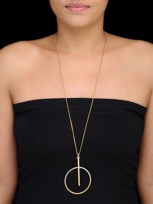 Classic Gold-plated Pendant with Chain