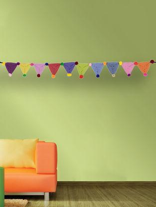 Multicolored Handcrafted Dori Bunting (37in x 3in)