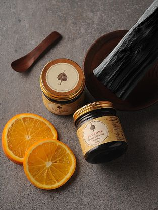Orange & Charcoal Face Pack-100 gms