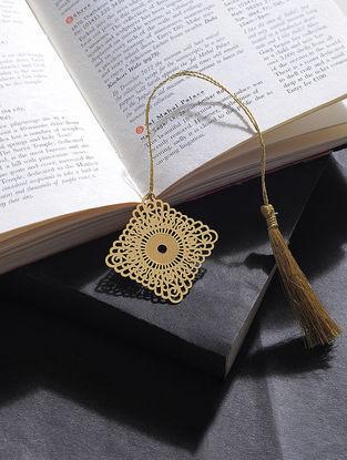 Kite Gold Plated Brass Bookmark