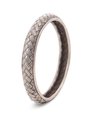 Tribal Silver Bangle (Bangle Size - - 2/8)