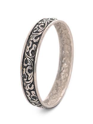 Tribal Silver Bangle (Bangle Size - 2/12)