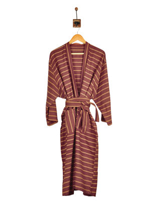 Berry Brown-Golden Bathrobe