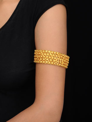 Gold Tone Handcrafted Bajubandh