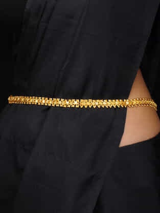 Gold Tone Handcrafted Belt