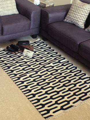 Coco Hand Woven Cotton Rug (5ft x 3ft)