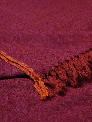 Magenta Wool Shawl