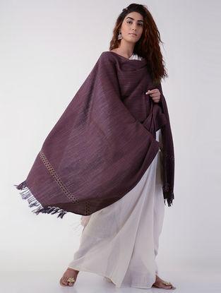 Maroon Wool Shawl