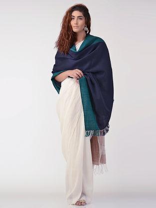 Blue-Green Wool Shawl