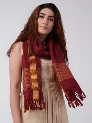 Red-Yellow Wool Stole