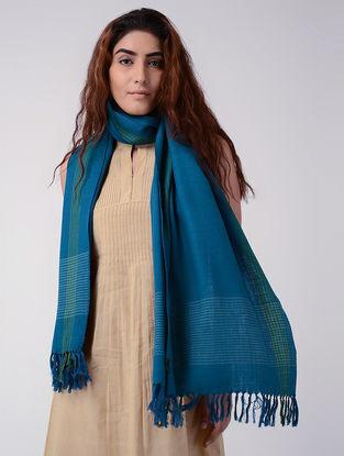 Blue-Green Wool Stole