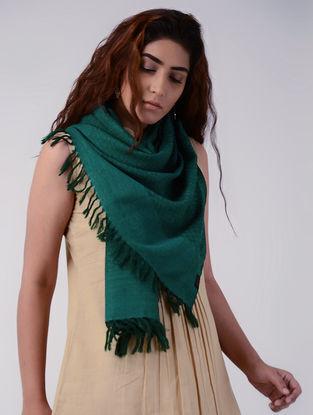Green Wool Stole
