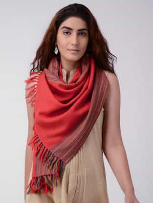 Red-Purple Wool Stole