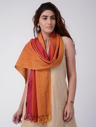 Red-Orange Wool Stole