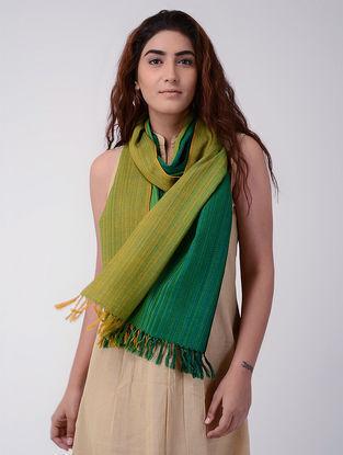 Green-Yellow Wool Stole