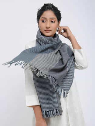 Grey Merino Wool Stole