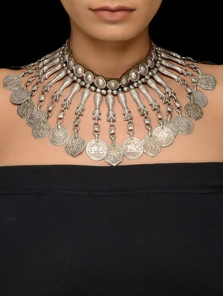 Tribal Vintage Silver Necklace