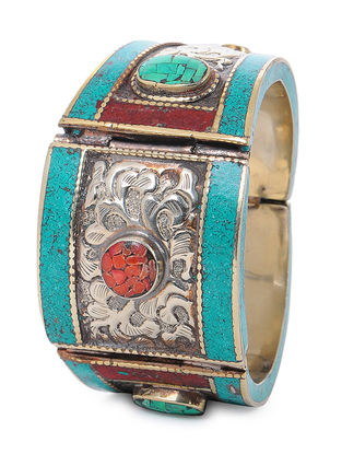 Orange-Turquoise Bangle