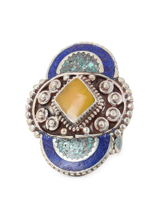 Blue-Yellow Adjustable Ring