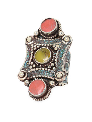 Orange-Yellow Adjustable Ring