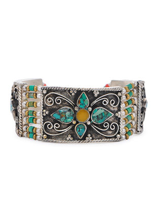 Turquoise-Green Beaded Bracelet